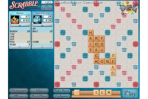 Scrabble Gameplay Trailer - Download Free Games - YouTube