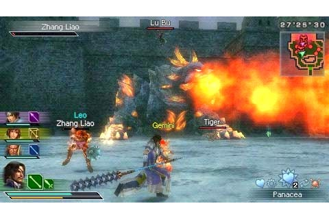 Dynasty Warriors Strikeforce | Download Game PSP PPSSPP ...