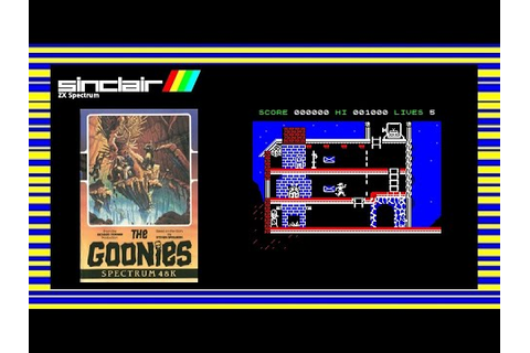 THE GOONIES - ZX Spectrum Game Review - YouTube