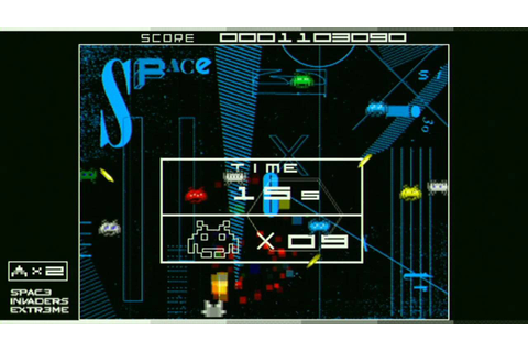 Space Invaders Extreme Game Sample - PSP - YouTube