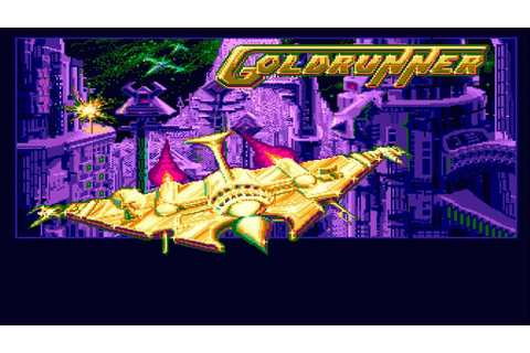 Lukozer Retro Game Review 145 - Goldrunner - Commodore ...