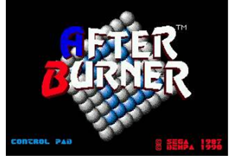 Download After Burner II - My Abandonware