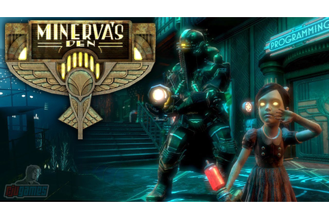Bioshock 2 Minervas Den Part 1 | Remastered DLC | PC ...