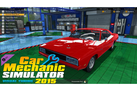 Car Mechanic Simulator 2015: Visual Tuning - Free Full ...
