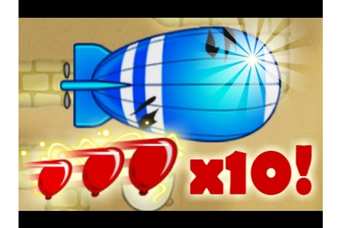 Hyperspeed Game Mode in Bloons TD Battles! x10 Bloon Speed ...