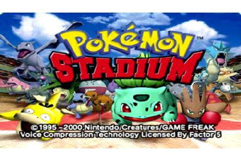 Pokemon Stadium | Nintendo 64 | Let's Battle ! - YouTube