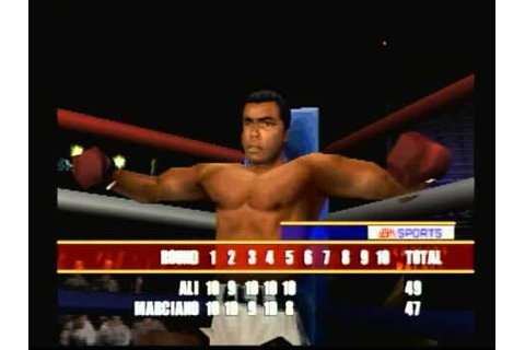 EA Sports Knockout Kings 2000 (Playstation) Game Play ...