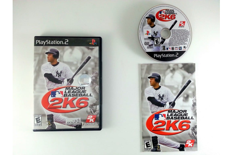 Major League Baseball 2K6 game for Playstation 2 (Complete ...