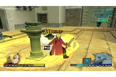 Fullmetal Alchemist 2: Curse of the Crimson Elixir (PCSX2 ...