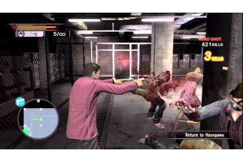 9 Yakuza: Dead Souls Hard HD Walkthrough (Part 1 Chapter 3 ...