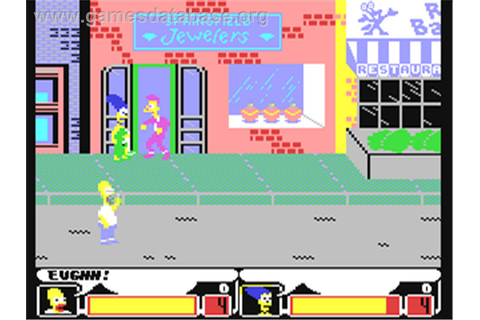 The Simpsons Arcade Game - Commodore 64 - Games Database