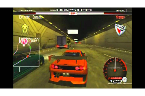 HOW TO BE A DICK! Tokyo Xtreme Racer Zero PS2 (HD sort of ...