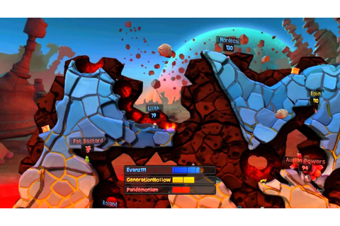 Worms Revolution DLC: New Map, New Weapons and The Closest ...
