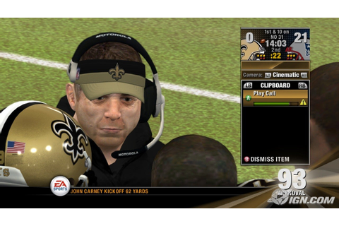 NFL Head Coach 09 Screenshots, Pictures, Wallpapers - Xbox ...