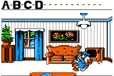 Donald's Alphabet Chase (1988) by Westwood Studios Apple ...