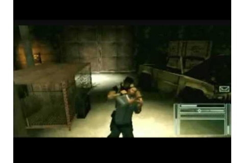 Tom Clancy's Splinter Cell Essentials Trailer - PSP - YouTube