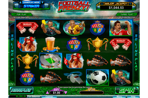 Football Frenzy Slot Machine UK Play Free Games Online £500