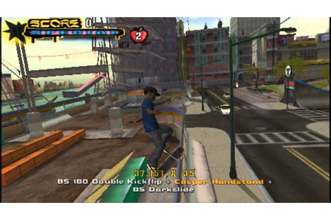 Tony Hawk's Underground 2 Remix (PSP) gameplay part 1 ...