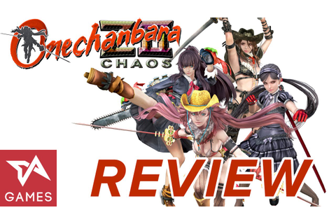 Review Onechanbara Z2 Chaos | Tech In Asia Games - YouTube
