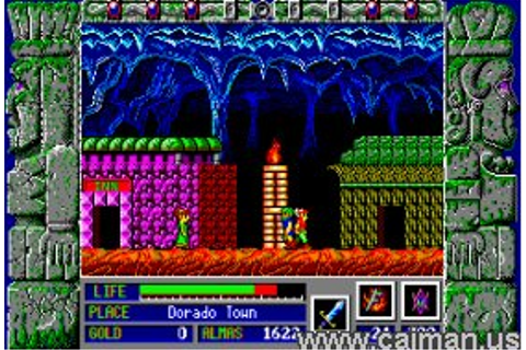 Caiman free games: Zeliard by Game Arts / Sierra ...