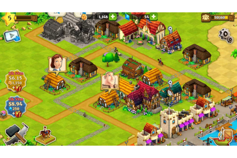 Free iOS and Android Game Town Village Farm, Build, Trade ...