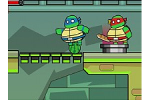 Ninja Turtles Save New York | Free Online Platform Games ...