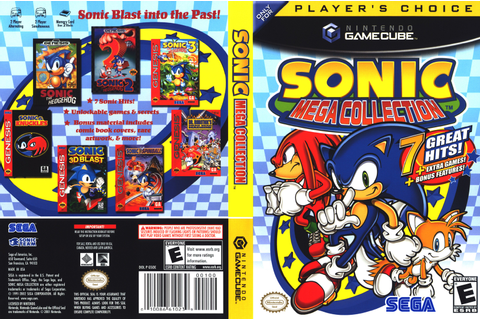 Official Art – Sonic Mega Collection | Last Minute Continue