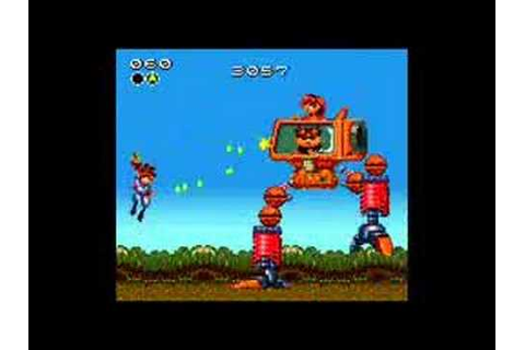 Gunstar Heroes sega game gear - YouTube