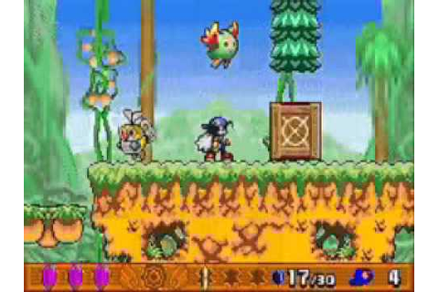 Klonoa 2 Dream Champ Tournament GBA Gameplay - YouTube