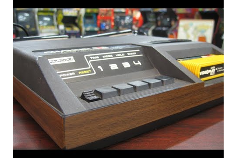 Classic Game Room - FAIRCHILD CHANNEL F console review ...