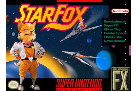 Star Fox SNES Super Nintendo