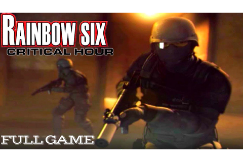 Tom Clancy's Rainbow Six: Critical Hour Full Game (Xbox ...