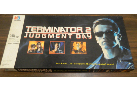 Terminator 2: Judgment Day Board Game Review and Rules ...
