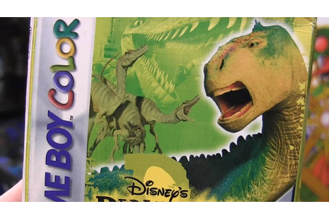 CGR Undertow - DISNEY'S DINOSAUR review for Game Boy Color ...