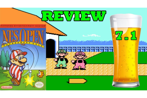 DBPG: NES Open Tournament Golf Review (NES) - Best NES ...