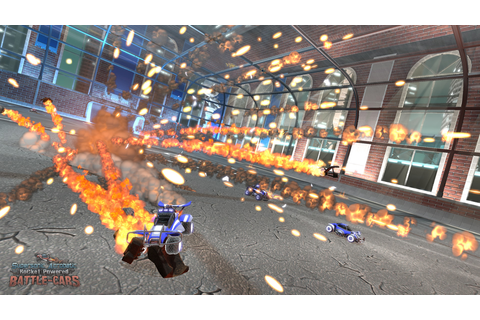 Supersonic Acrobatic Rocket-Powered Battle-Cars | GameWatcher