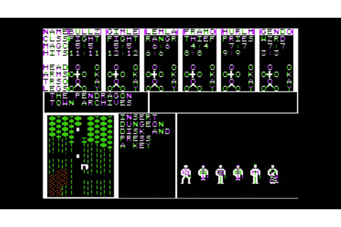 Phantasie III: The Wrath of Nikademus for the Apple II ...