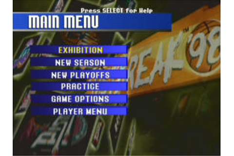 The Official PlayStation Museum | NBA Fastbreak '98 - The ...