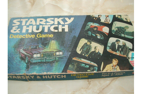 STARSKY AND HUTCH GAME - 1970'S - DETECTIVE GAME - STARSKY ...