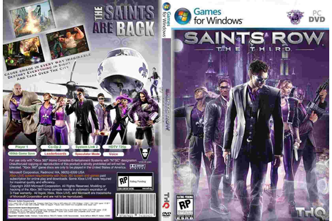 Saints Row: The Third - Games do ano!: Saints Row: The Third
