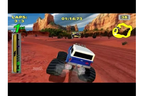Bigfoot Collision Course / Nintendo Wii 4x4 Big Truck ...