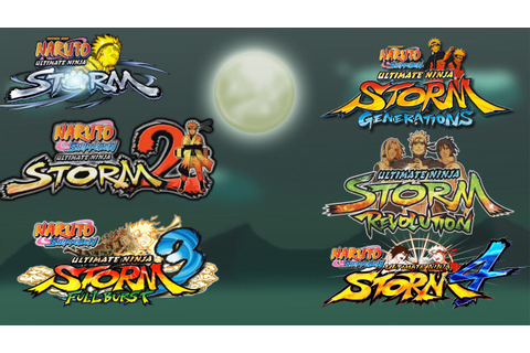 Naruto Ultimate Ninja Storm 1-4: ALL OPENINGS/INTROS ...