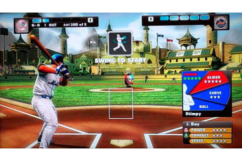 Gor Plays: Nicktoons MLB for the Xbox 360 Kinect (A Let's ...