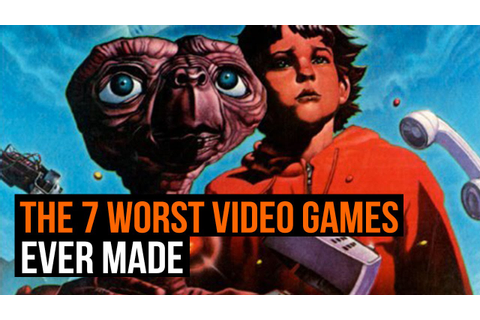 The 7 Worst Video Games Ever - YouTube