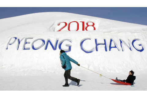 The weather in Pyeongchang, 2018 Games site, is ...