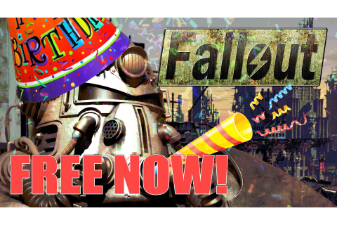 Original Fallout Game FREE On Steam Now!! | Fextralife
