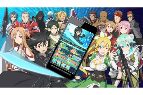 Sword Art Online: Code Register (JP) - TV commercial ...