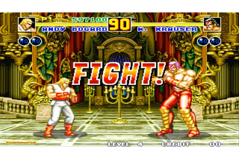 Fatal Fury 2 arcade Gameplay Playthrough Longplay - YouTube