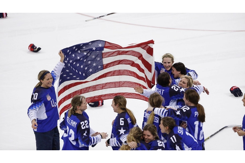 US women's hockey defeats Canada in shootout to win ...