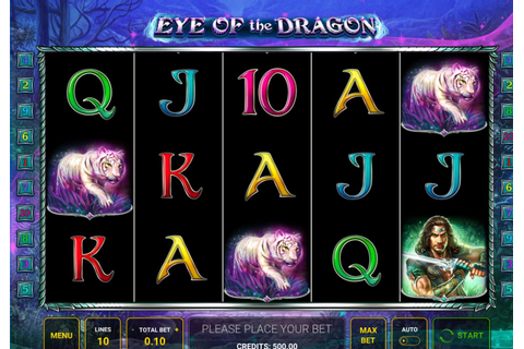 Eye of The Dragon slot from Novomatic play online free demo